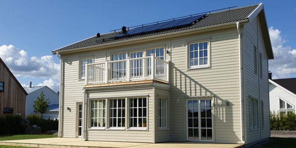 Solceller från Mariebergs Solenergi